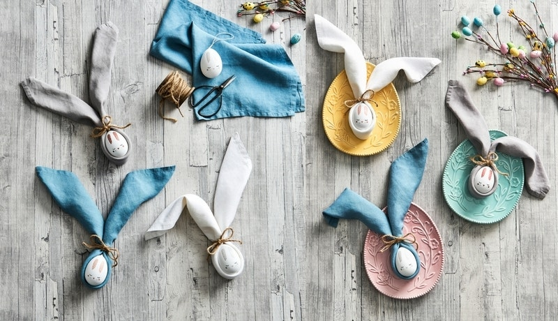 How To Create Your Own Easter Bunny Napkins Image 01