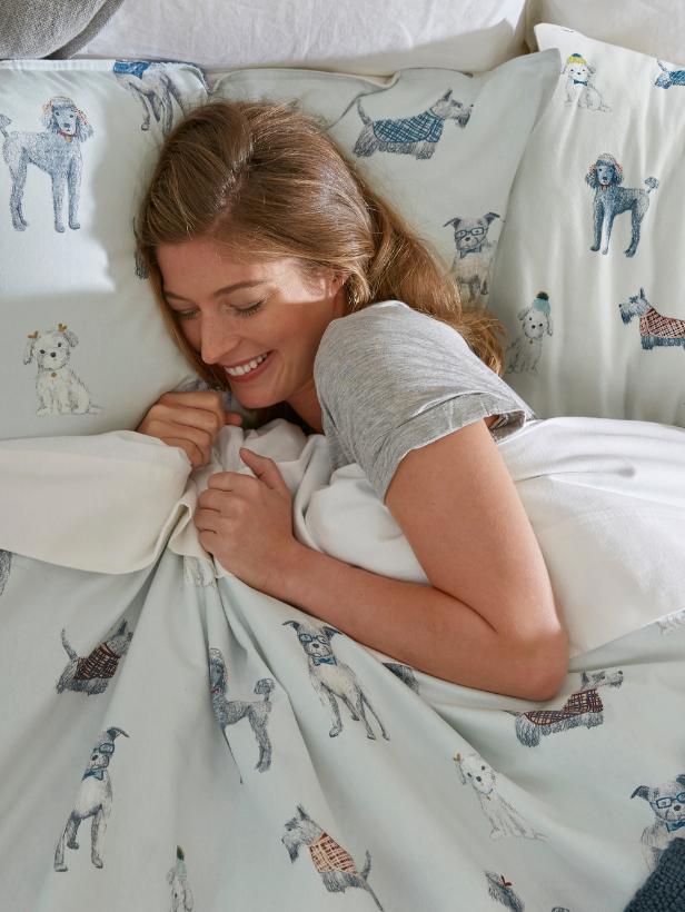 Sleep better with flannelette