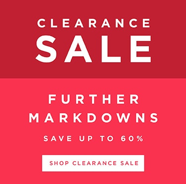 Clearance Sale Further Markdowns