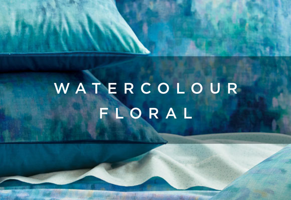 watercolour floral lookbook
