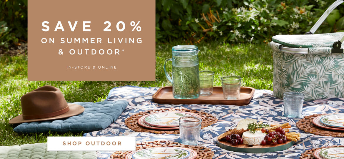 Save 20% Off Selected Outdoor