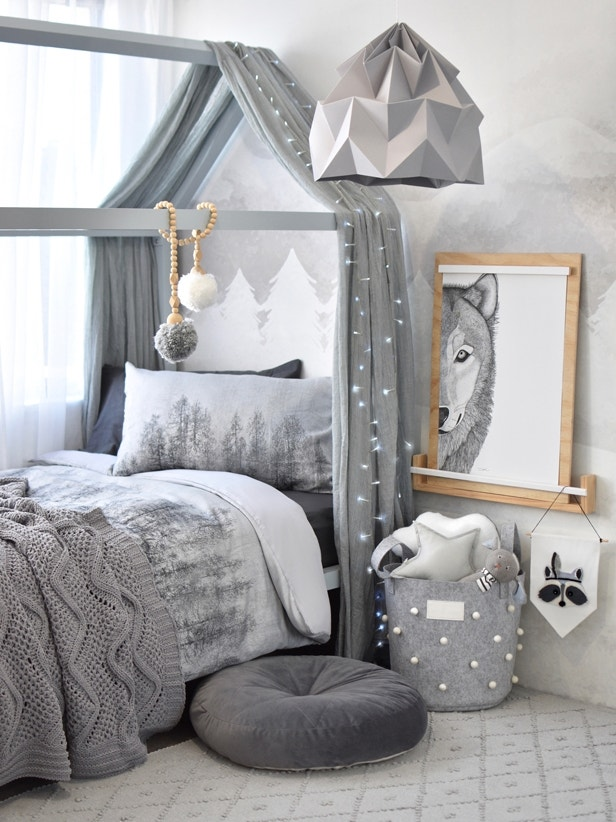 Winter Bedroom