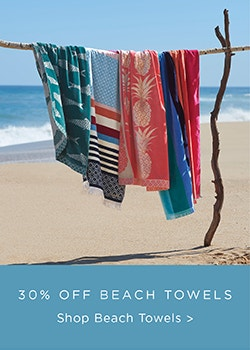 Beach Towels 30% Off